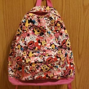 Disney Accessories - 🆕️🎆Disney Pink Canvas Backpack